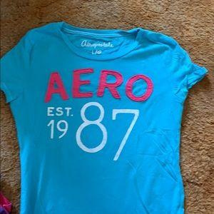 Aeropostal girls shirt size large